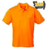 Afbeeldingen van Polo Shirt COOL-Play JC040 Orange-Crush