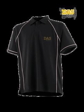 Bild von Polo Shirt  FH370 Performance Black-White