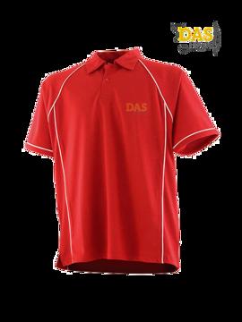 Bild von Polo Shirt  FH370 Performance Red-White