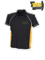Afbeeldingen van Polo Shirt  FH370 Performance Black-Amber