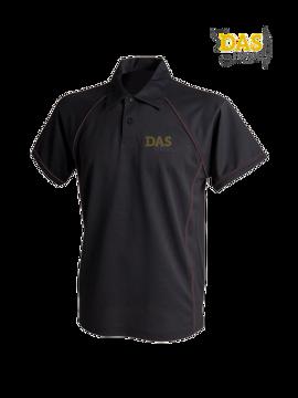 Bild von Polo Shirt  FH370 Performance Black-Black