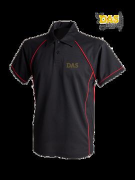 Bild von Polo Shirt  FH370 Performance Black-Red