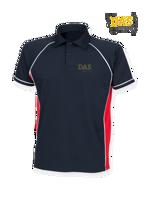 Afbeeldingen van Polo Shirt  FH370 Performance Navy-Red-White