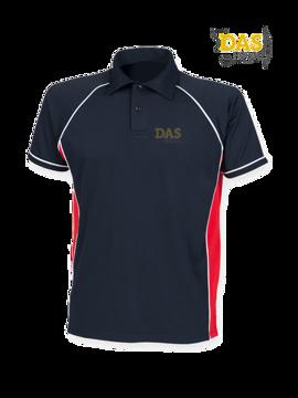 Bild von Polo Shirt  FH370 Performance Navy-Red-White