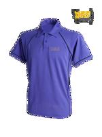 Afbeeldingen van Polo Shirt  FH370 Performance Purple-Navy