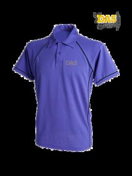 Bild von Polo Shirt  FH370 Performance Purple-Navy