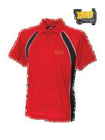 Afbeeldingen van Polo Shirt  FH350 Jersey Team Red-Black-White