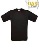 T-Shirt B&C 190 Men Black