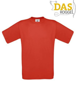 T-Shirt B&C 190 Men Red