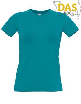 T-Shirt B&C 190 Women Diva Blue
