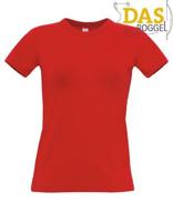 T-Shirt B&C 190 Women Red