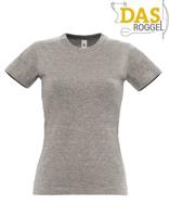 T-Shirt B&C 190 Women Sport Grey