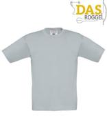 T-Shirt B&C 190 Kids Pacific Grey