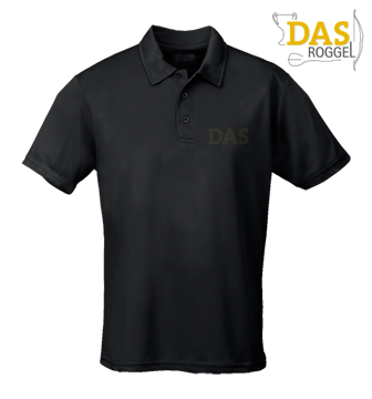 Afbeeldingen van Polo Shirt COOL-Play JC040  Black