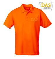 Afbeeldingen van Polo Shirt COOL-Play JC040 Electric Orange