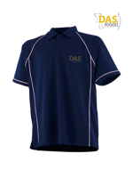 Afbeeldingen van Polo Shirt  FH370 Performance Navy-White