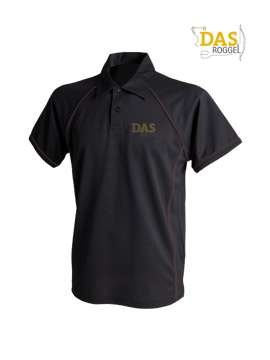 Bild von Polo Shirt  FH370 Performance Black-Black