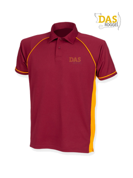 Image de Polo Shirt  FH370 Performance Maroon-Amber