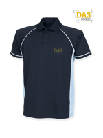 Afbeeldingen van Polo Shirt  FH370 Performance Navy-Sky-White
