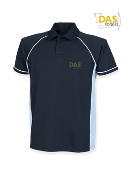 Bild von Polo Shirt  FH370 Performance Navy-Sky-White