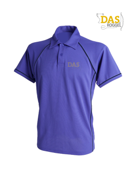 Image de Polo Shirt  FH370 Performance Purple-Navy