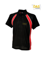 Afbeeldingen van Polo Shirt  FH350 Jersey Team Black-Red-White