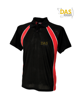 Picture of Polo Shirt  FH350 Jersey Team Black-Red-White