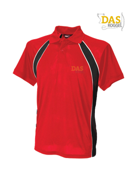 Picture of Polo Shirt  FH350 Jersey Team Red-Black-White