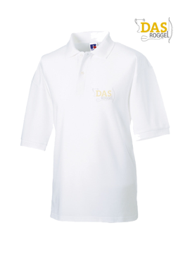 Picture of Polo Shirt Classic Z539 65-35% White
