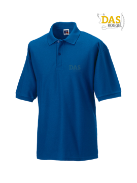 Bild von Polo Shirt Classic Z539 65-35% Bright Royal