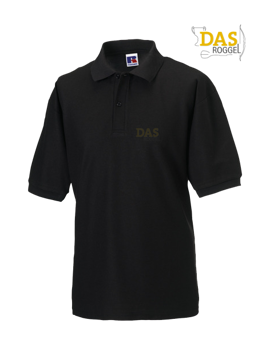 Picture of Polo Shirt Classic Z539 65-35% Black