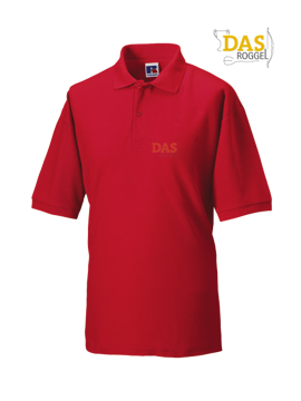 Picture of Polo Shirt Classic Z539 65-35% Classic-Red