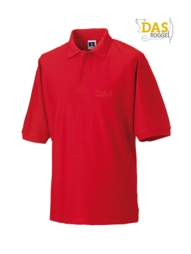 Bild von Polo Shirt Classic Z539 65-35% Bright-Red