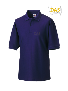 Picture of Polo Shirt Classic Z539 65-35% Purple