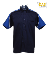 Afbeeldingen van Dartshirt Gamegear K186 Navy-Royal-Wit