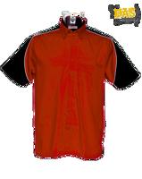Afbeeldingen van Dartshirt Gamegear K186 Rood-Zwart-Wit