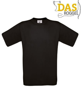 T-Shirt B&C 190 Men Black