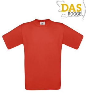 T-Shirt B&C 190 Men Red