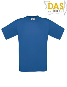 T-Shirt B&C 190 Men Royal Blue