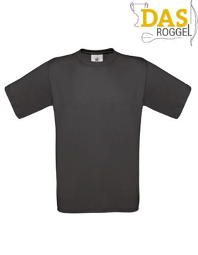 T-Shirt B&C 190 Men Used Black