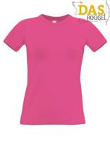 T-Shirt B&C 190 Women Fuchsia