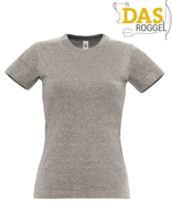 T-Shirt B&C 190 Women Sport Grey