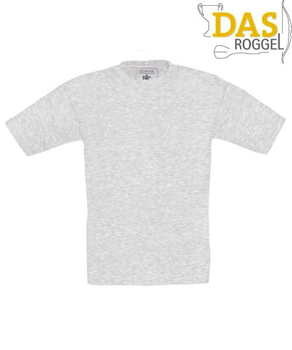 T-Shirt B&C 190 Kids Ash (Heather)