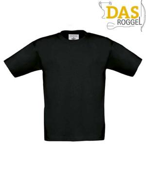 T-Shirt B&C 190 Kids Black