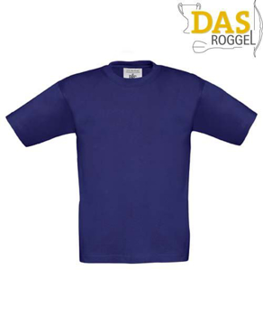 T-Shirt B&C 190 Kids Indigo