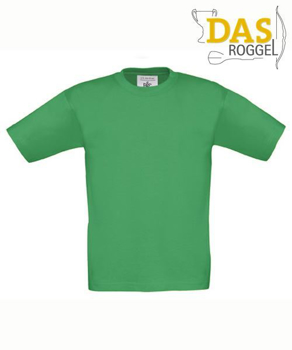 T-Shirt B&C 190 Kids Kelly Green