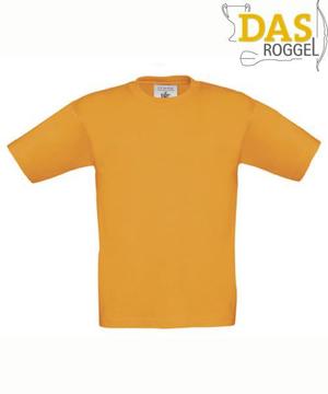 T-Shirt B&C 190 Kids Orange