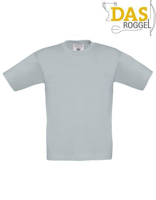 T-Shirt B&C 190 Kids Pacific Grey