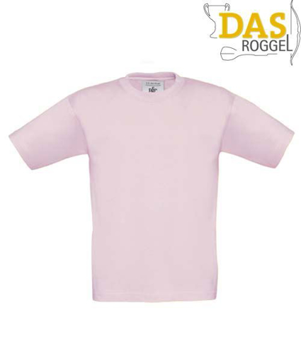 T-Shirt B&C 190 Kids Pink Sixties