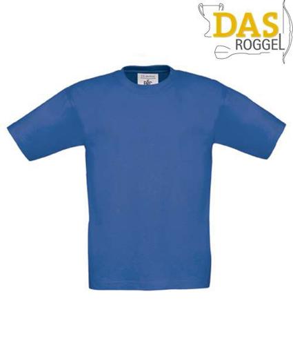 T-Shirt B&C 190 Kids Royal Blue